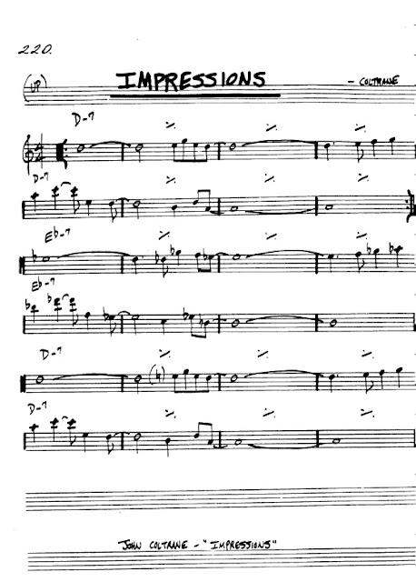 Partitura Violín Coltrane