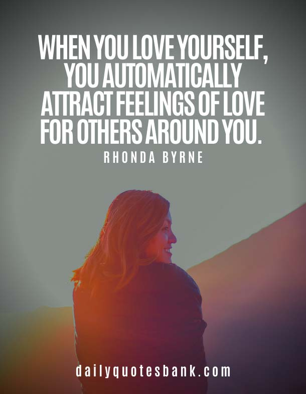 Quotes On How To Love Yourself and Happiness