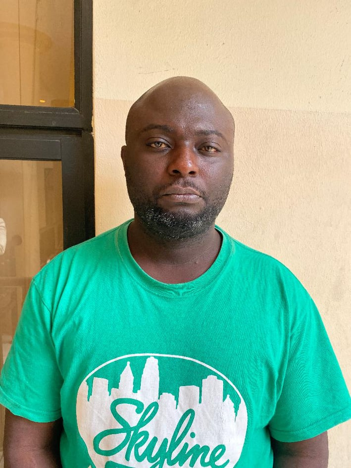 EFCC Arrests Man For Impersonation In Abuja (Photo)