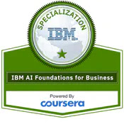 Best Couresra Certification for Artificial Intelligence from IBM