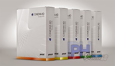 PH Downs: Cinema 4D R15 + Crack / Serial - Download Completo