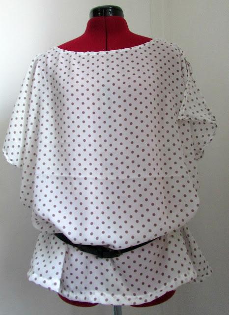 blouse, couture, facile