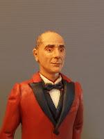 statuina personalizzata sposo in rosso ritratto sposo idea regalo orme magiche