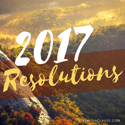 2017 Resolutions - Rebe With a Clause