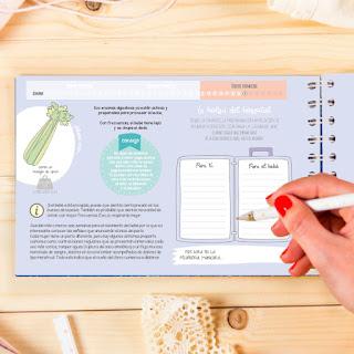 regalos originales embarazada libro recuerdo diario del embarazo semana a semana feto fruta blog mimuselina