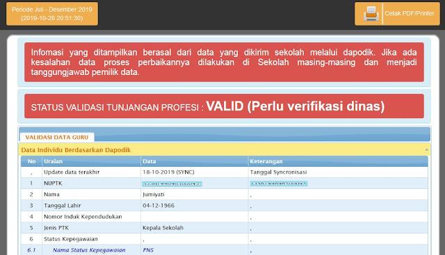 Cara cek info GTK Tanpa Akun PTK dan Akun SIM PKB