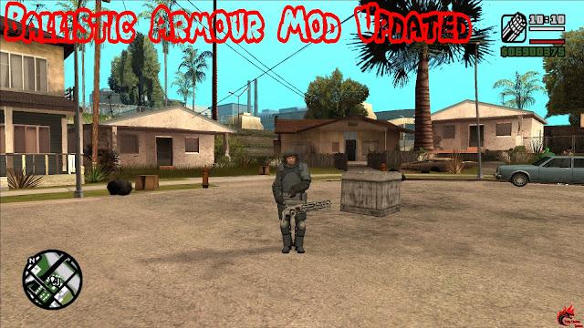 GTA San Andreas Ballistic Armour Mod Updated