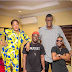 The Tallest man spotted on the set of 'Fate of Alakada' along Broda Shaggi, Toyin, Khaffi- Actor Chinedu Ikedieze reacts