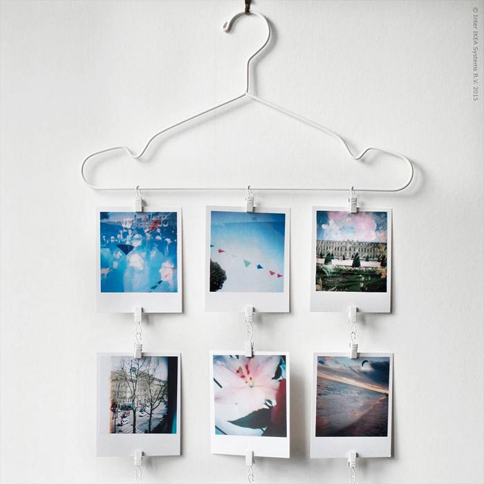 Decorare le pareti con le fotografie blog di arredamento e interni dettagli home decor - Decorazioni muro ikea ...
