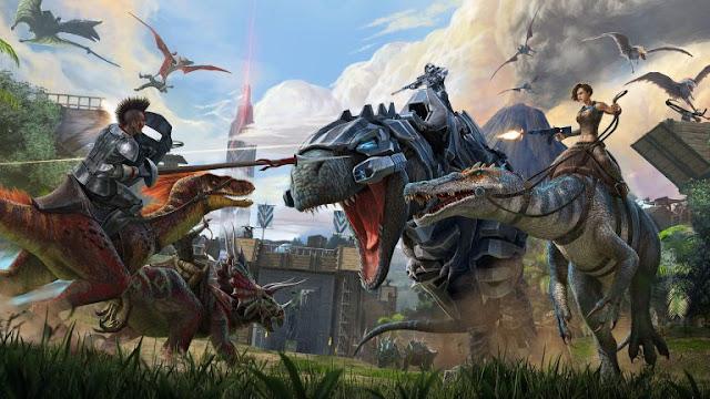 تم الاعلان عن تصحيح جديد اسمه Extinction Chronicles V للعبة Ark Survival Evolved