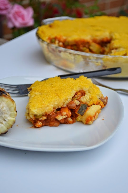 Tamale Pie - Vegan