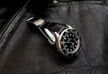 Rolex Sea Dweller on 'Million Dollar Black' Alligator with Integrated fit