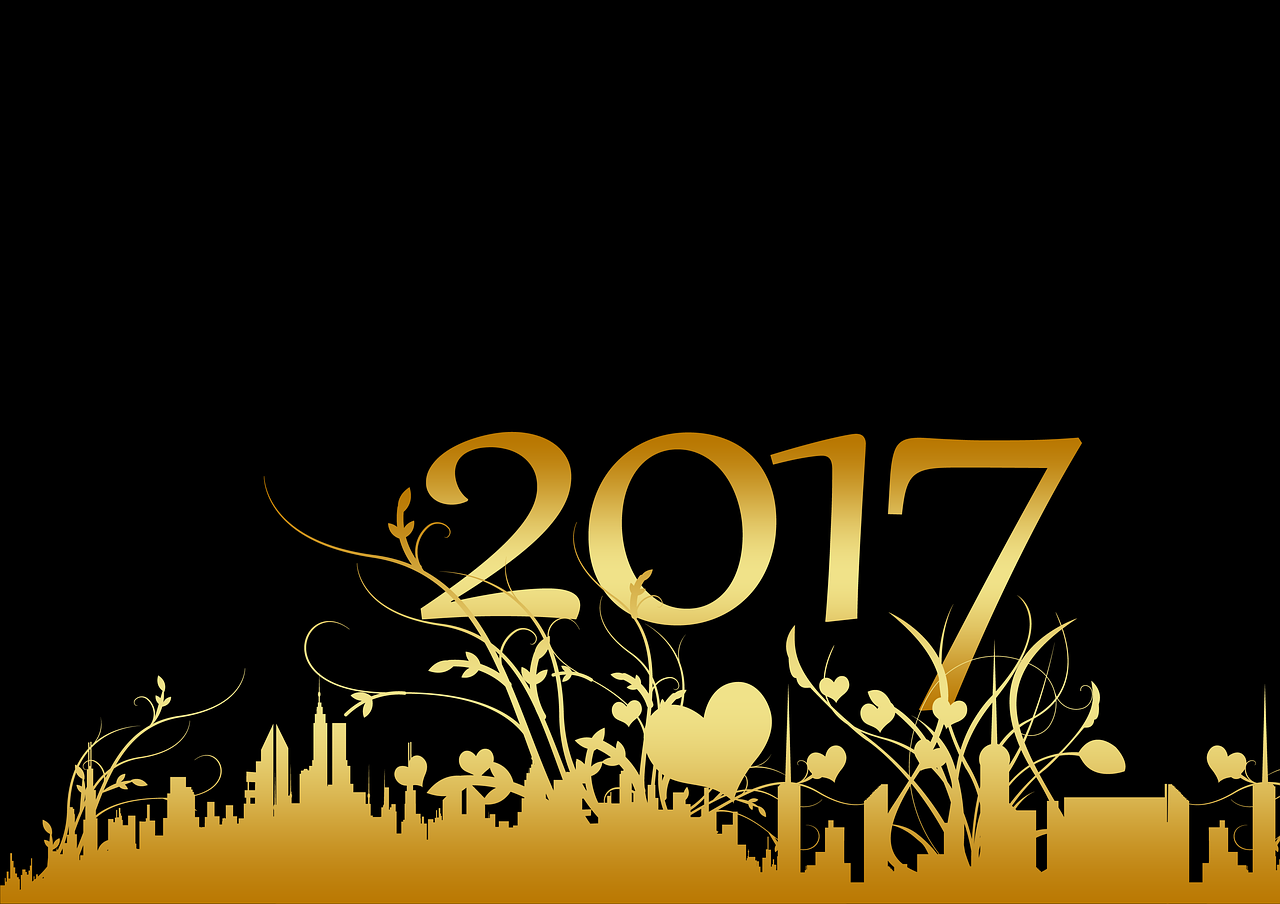 Happy New Year 2017 Facebook Cover Pics