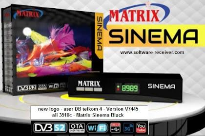 Software Matrix Sinema Version 7445 - Telkom 4 List Channel