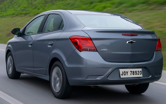 novo GM Joy Plus 2020 - Chevrolet Prisma Joy