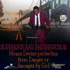 Supernatural preservation by pastor Jide Ojo