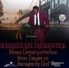 Supernatural preservation by pastor Jide Ojo