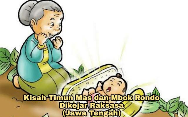 Kisah Mbok Rondo dan Timun Emas – Dikejar Raksasa (Legenda Jawa Tengah)