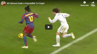 Video 50 bàn thắng đẹp mắt nhất, kinh điển nhất bóng đá thế giới