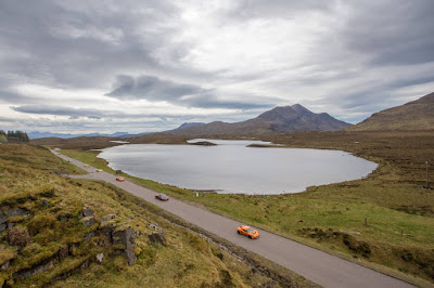 NC500 cars and road by Laurence Norah-2