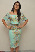 Nikki Galrani in Cute Dress Dress At Marakathamani Success Meet ~  Exclusive 021.JPG