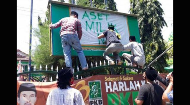 Dinilai Tak Menghormati Ulama, Kader NU Ambil Alih Kantor PKB Kabupaten Kediri
