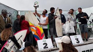 Ivan Tombo comemorou segunda colocação no Circuito Paranaense de Surf Universitário