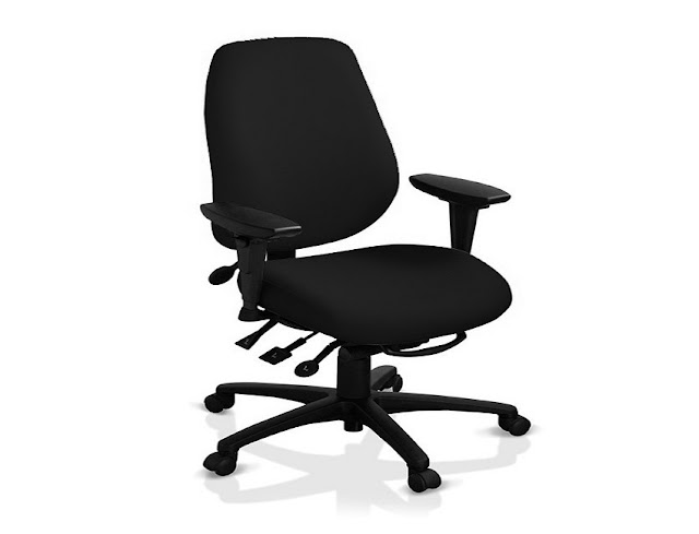 best buy black ergonomic office chair for sciatica sale online