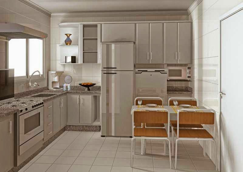 Menggambar Desain Dapur untuk Ruang Sempit Rumah Minimalis