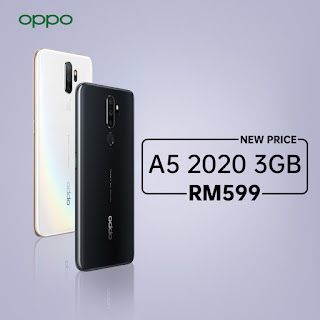 A5 2020 at a price of RM 599