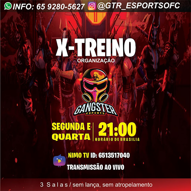 X-TREINO GTR E-SPORTS
