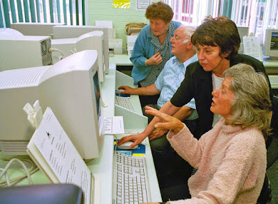 Adult Learners' Week - picture on Nigel Fisher's Brigg Blog