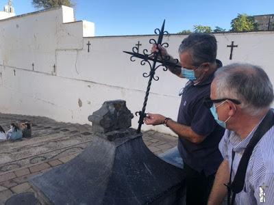 Destrozan la Cruz del Bailío que corona la Cuesta del mismo nombre de Córdoba