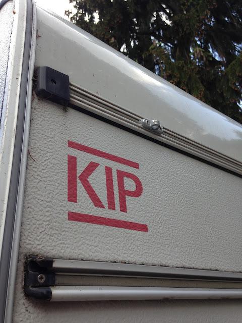 Unser treuer Begleiter: KIP Wohnwagen