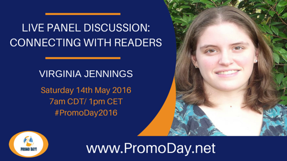 LIVE Panel Discussion: Connecting With Readers at #‎PromoDay2016‬