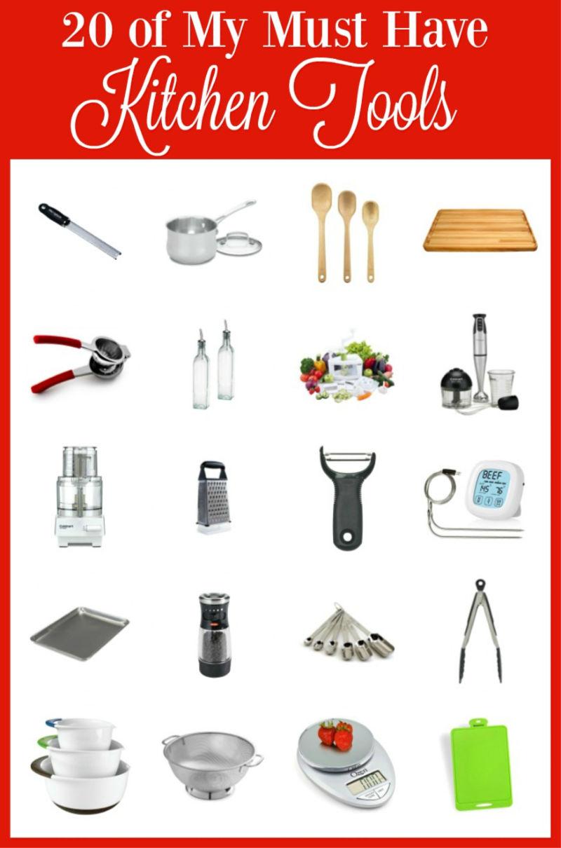 20 of My Must Have Kitchen Tools | Bobbi\'s Kozy Kitchen