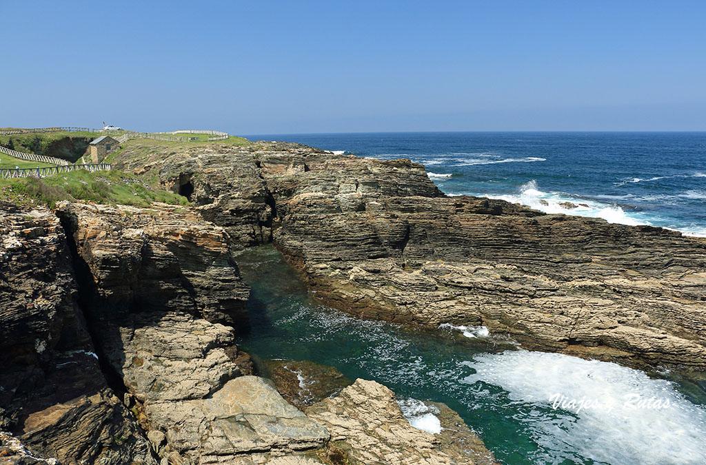 Acantilados de la costa de Rinlo, Lugo