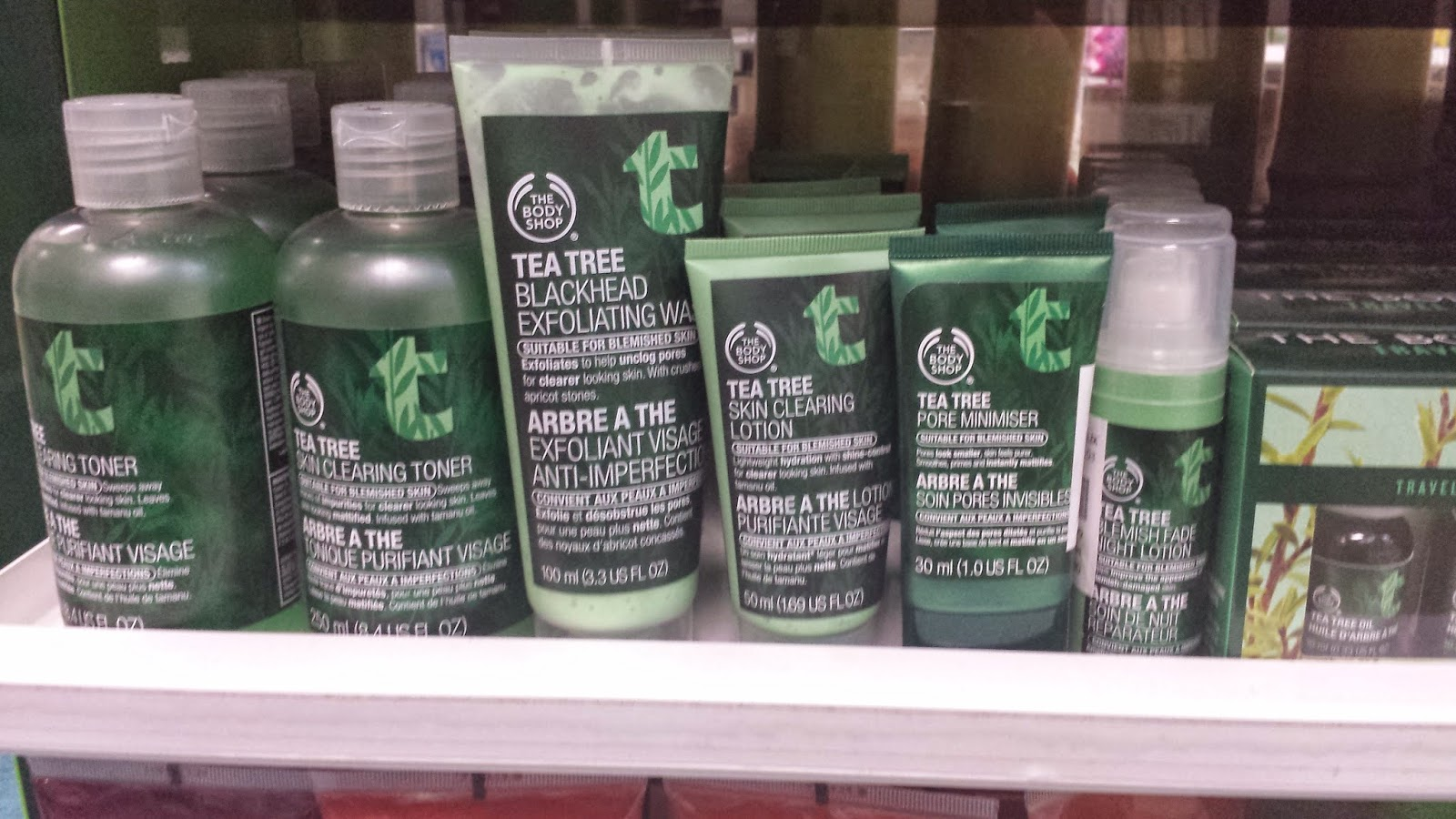 The Body Shop Tea Tree products - www.modenmakeup.com