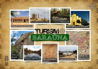 Baraúna atrativo para o turismo