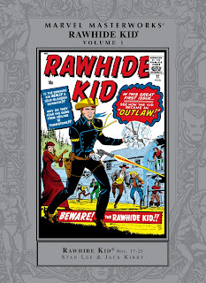 Review Marvel Masterworks Rawhid Kid Volume One Stan Lee Jack Kirby Marvel Cover MMW hardcover hc comic book
