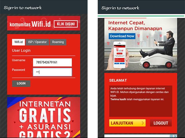 Cara mendapatkan voucher (akun) @wifi.id GRATIS 6