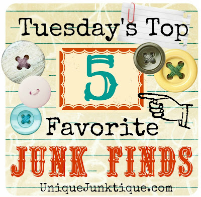 Tuesday's Top Five Favorite Junk Finds #2