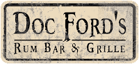 The Doc Ford's restaurant on Captiva Island, Florida is a Floribbean chain named after a fictional character from the books of Randy Wayne Wright