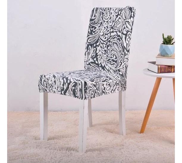 beautyfull black nd white flowe design for cover sofa design ideas