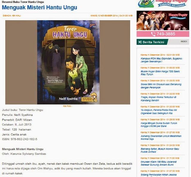 dimuat di detakpekanbaru.com Kamis, 13 November 2014