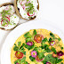"""Omelett mit Tomaten + Radieschen-Quark Brot """"Mein Frühstücksglück"""""""