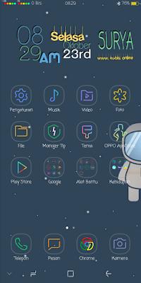 Cara Mengganti Ikon Signal, Batre, dan Navigasi Android Dengan Mudah Tanpa Root