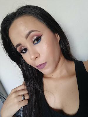 Tutorial: Maquiagem Colorida pra Noite