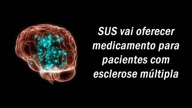 SUS vai oferecer medicamento para pacientes com esclerose múltipla