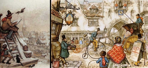00-Anton-Franciscus Pieck-1895-to-1987-a-life-of-Illustrations-and-Paintings-www-designstack-co